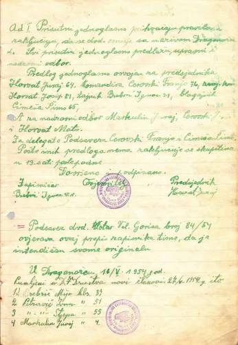 Zapisnik sa osnivacke skupstine 5